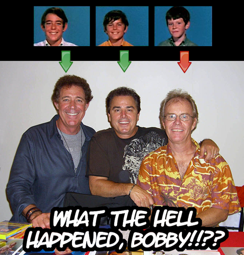 Bobby looks like shit